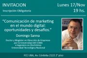 Ciclo de Conferencias de Negocios Digitales FCE-UBA